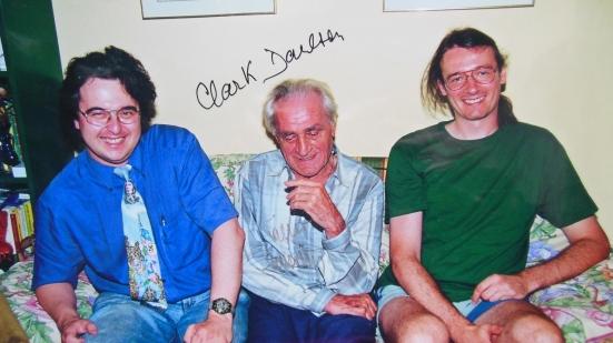 Wolfgang Zenker, Walter Ernsting und meinereiner, im Frühjahr 2001.