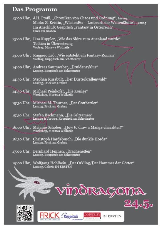Vindragona Programm A4