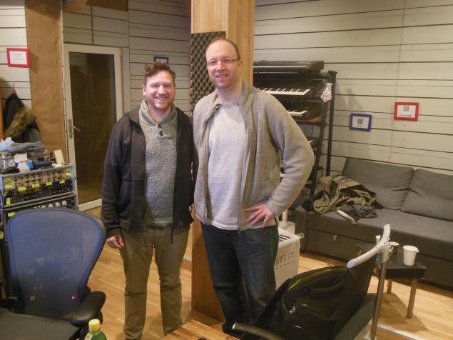 Daniel Hasibar von 4earstudios und Dennis Ehrhardt